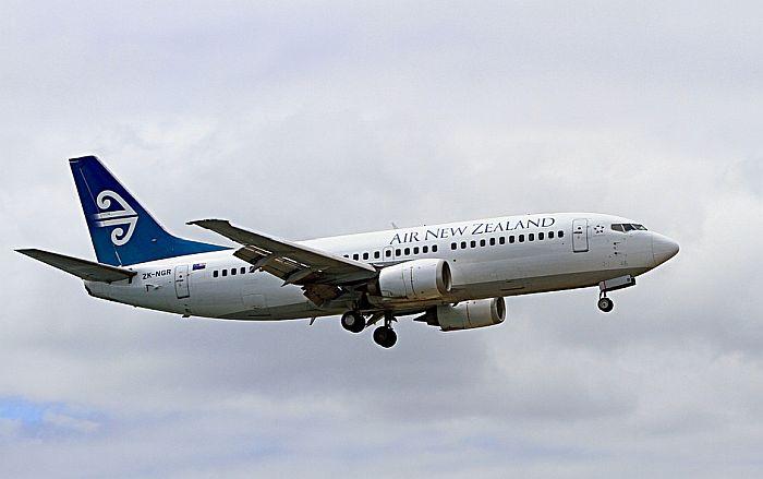 Avion na letu za Kinu vraćen u Okland jer nije bio registrovan