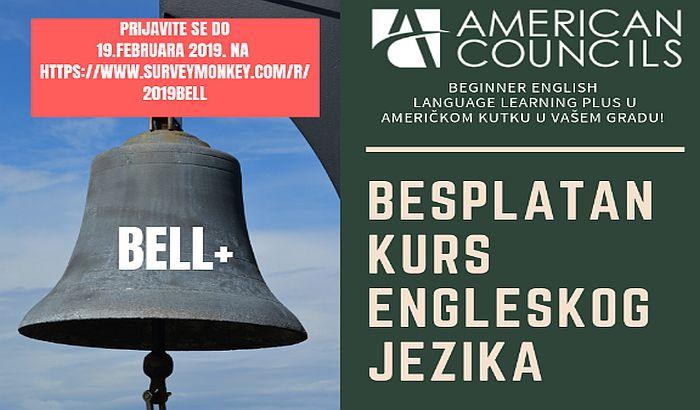 Besplatan kurs engleskog jezika od 26. februara u Američkom kutku