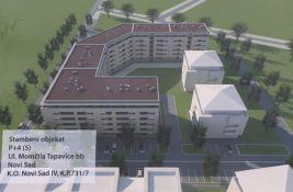 Novi Sad zida još jednu zgradu sa 27 stanova solidarnosti na Novom naselju