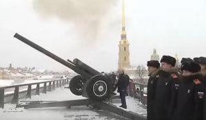 VIDEO: Putin pucao iz topa na Božićnoj ceremoniji