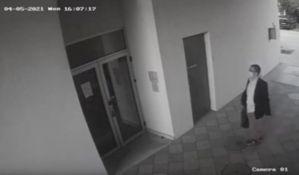 VIDEO: Objavljen snimak postavljanja bombe u Boćinom ulazu