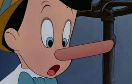 Nos se ohladi kada lažemo