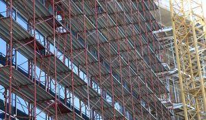 Smanjen rad na crno u građevinarstvu