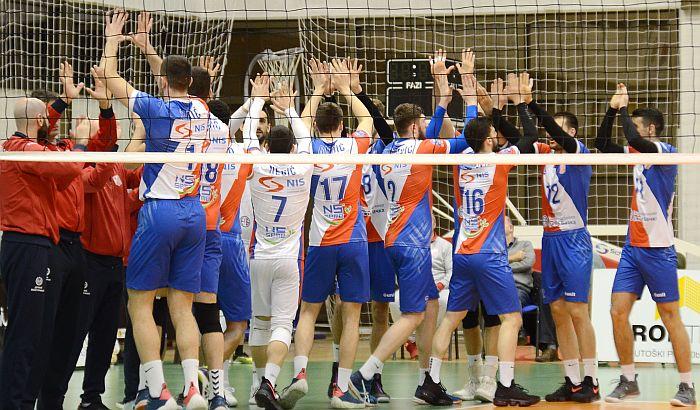 Odbojkaši Vojvodine počinju takmičenje u Ligi šampiona
