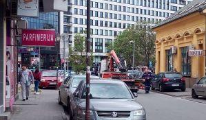 FOTO: Odblokirana Ulica Pap Pavla, dojava o bombi lažna
