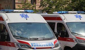 Pet udesa u Novom Sadu, među povređenima biciklistkinja i pešak