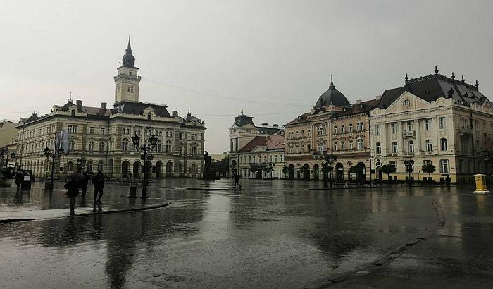 U Novom Sadu će u narednih 48 sati pasti kiše koliko obično padne za mesec dana