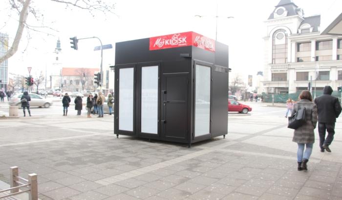 FOTO: Lokacije za 44 nova kioska u Novom Sadu po meri privatne firme