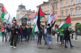 FOTO, VIDEO: Palestinci protestovali u centru Novog Sada, traže da se zaustavi krvoproliće