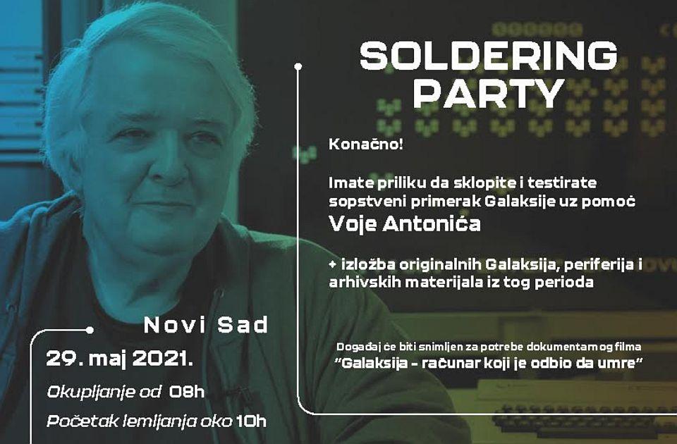 """Žurka lemljenja računara """"Galaksija"""" u subotu u Novom Sadu, dolazi čuveni Voja Antonić"""