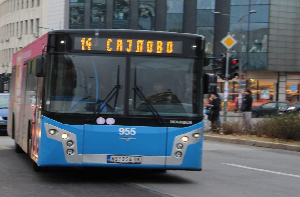 Izmena trasa linija 14 i 51 na Sajlovu