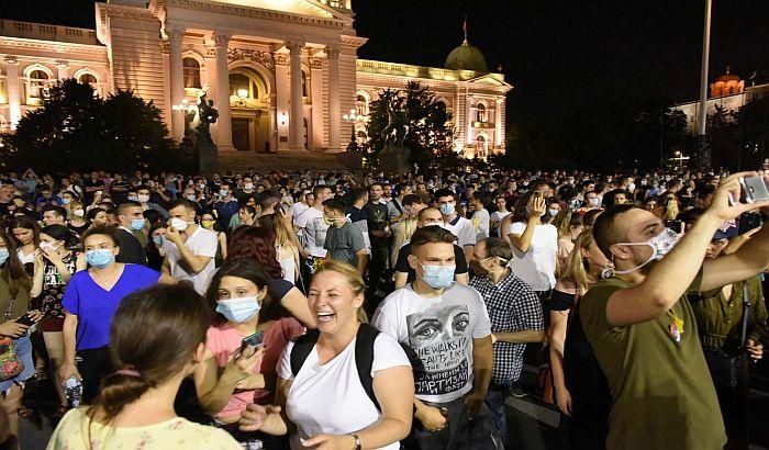 FOTO: Šarčević: Predsedniku plasirani loši podaci, studenti ostaju u domovima
