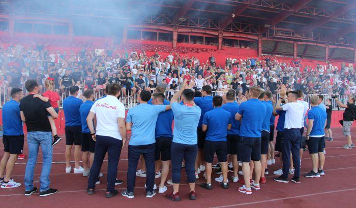 FK Vojvodina: Za sada nema obolelih, testiramo igrače