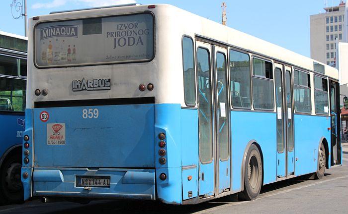 U nedelju i ponedeljak izmenjen red vožnje autobusa GSP-a