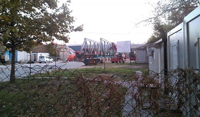 Počela demontaža mosta