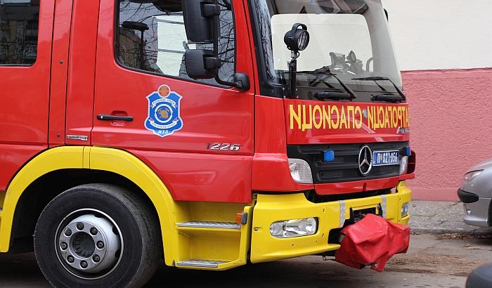 Žena povređena u požaru u Futoškoj ulici