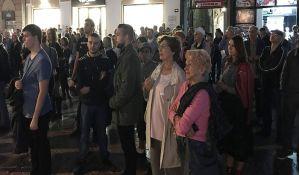 Održan još jedan protest Saveza za Srbiju protiv režima