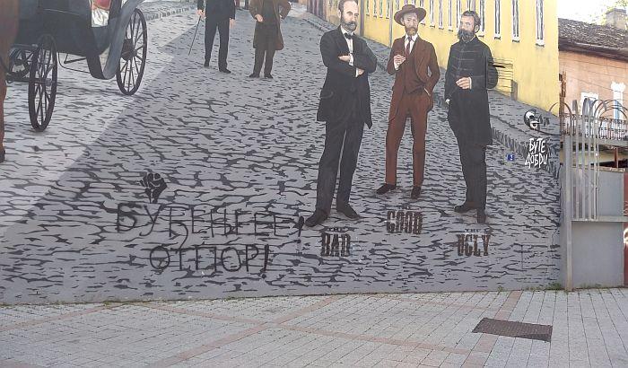 FOTO: Pesnica Otpora na muralu