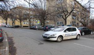 FOTO: Deo Grbavice jutros bio zatvoren zbog uviđaja nakon eksplozije automobila