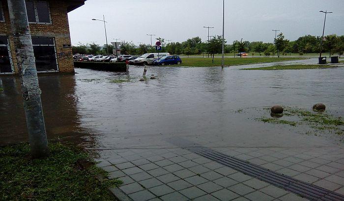 Štab za vanredne situacije: U Novom Sadu palo 116 litara kiše po metru kvadratnom