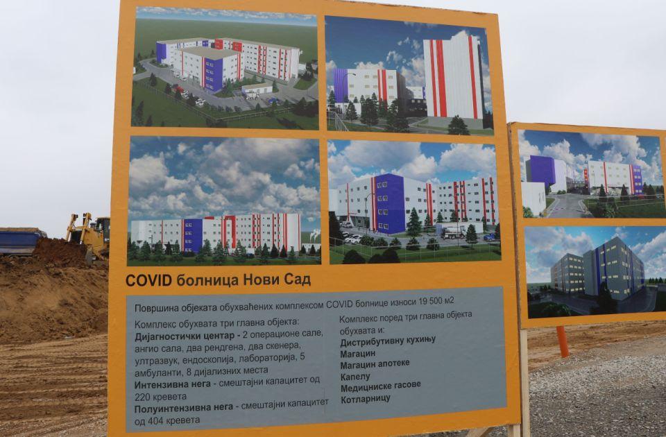 Izabran stručni nadzor na hitnoj izgradnji kovid bolnice na Mišeluku