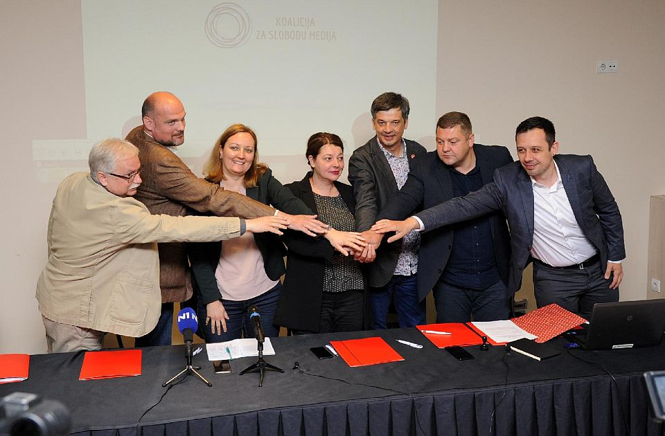 Saradnja šest medijskih organizacija u Koaliciji za slobodu medija