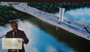 FOTO, VIDEO: Predstavljena maketa novog mosta preko Dunava kod Novog Sada