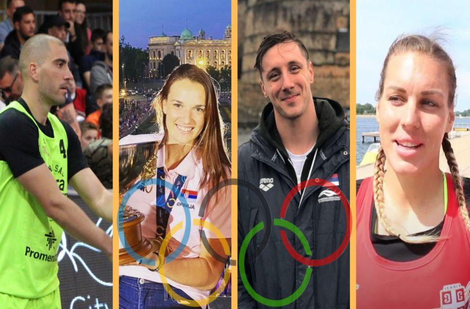 FOTO: Olimpijci koji predstavljaju Novi Sad - Od Starović, preko Čelića i Buluta, do Španović