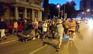 Novi Sad: Šeste večeri protesta samo pedesetak demonstranata