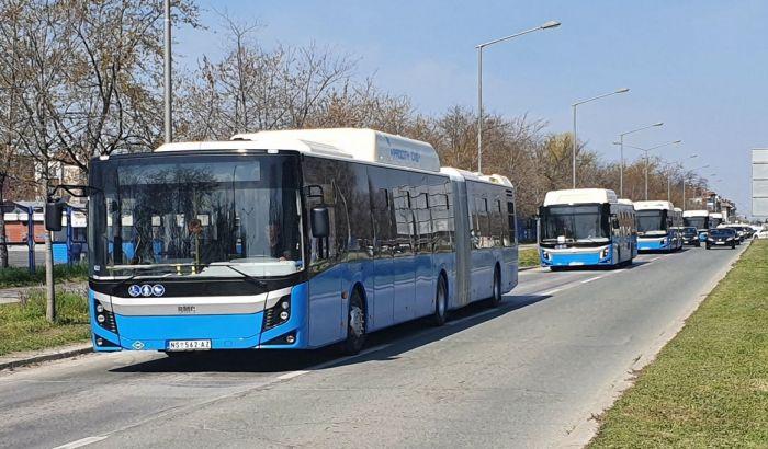 VIDEO: U garažu GSP-a stiglo 29 novih autobusa, uskoro na ulicama grada