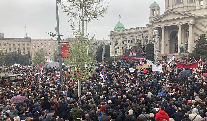 FOTO: Završen protest