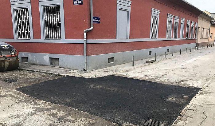 Zakrpljena rupa u Skerlićevoj, celokupna rekonstrukcija čeka tehničku dokumentaciju