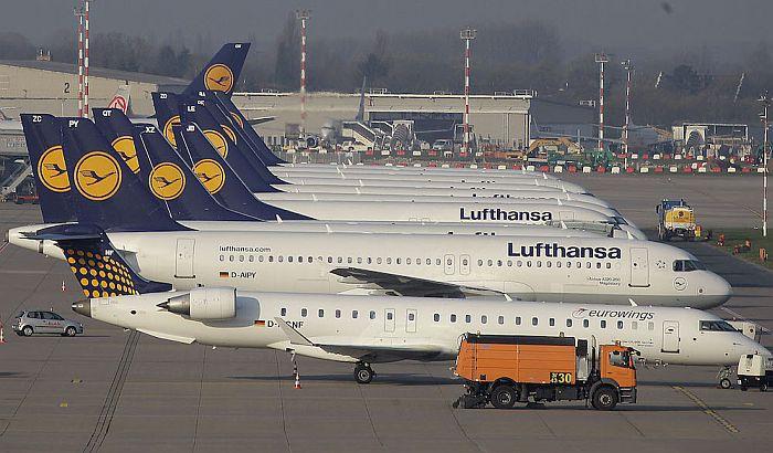 Lufthanza otkazuje 1.300 letova zbog štrajka