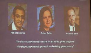 VIDEO: Dodeljene Nobelove nagrade u oblasti ekonomije