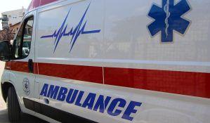 Žena teško povređena u udesu na Novom naselju