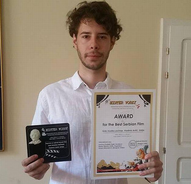 Novosadskom studentu prva nagrada za jednominutni film