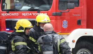 Požar na Bulevaru oslobođenja, goreo stan