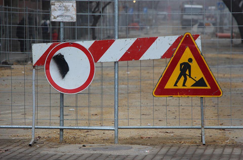 Radovi u Ulici Đorđa Markovića Koderan menjaju režim saobraćaja