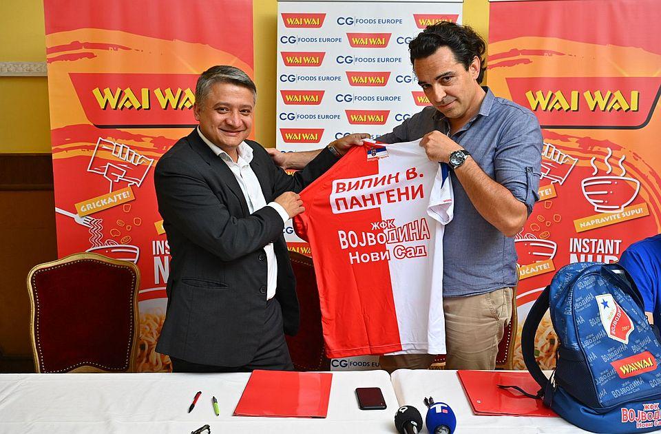 Fudbalerke Vojvodine od sada sponzoriše nepalska kompanija