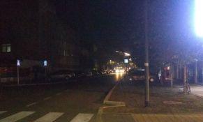 FOTO: Ulica Marka Miljanova u potpunom mraku nakon svečanog otvaranja