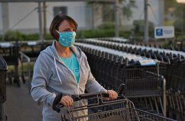 Usvojene dodatne mere: U prodavnicama u Srbiji osobe za kontrolu nošenja maski