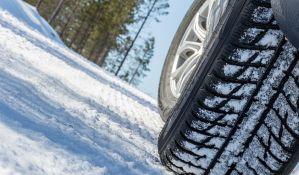 Od 1. novembra obavezne zimske gume