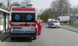 Šleper kod Čačka se prevrnuo, vozač povređen