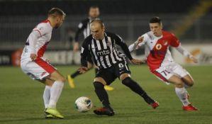Proleter poražen od Partizana, Matićev prvenac za crno-bele