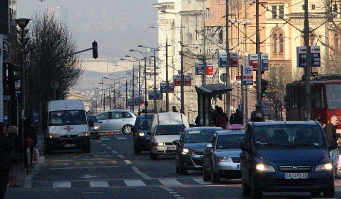 Ulice koje su zatvorene u Beogradu zbog mitinga