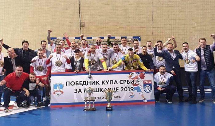 Rukometaši Vojvodine osvojili Kup, trofej posle četiri godine ponovo u Novom Sadu