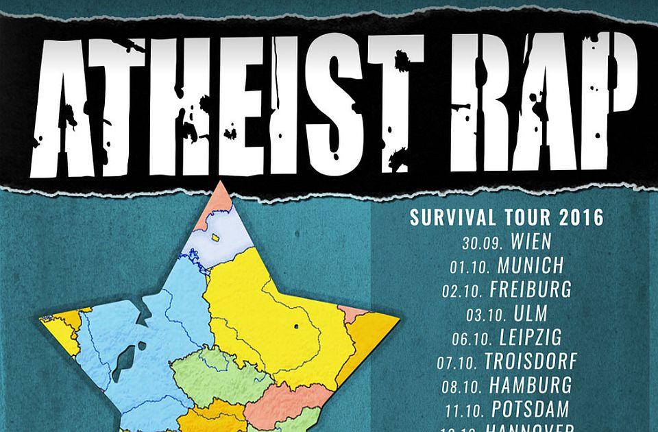 "Atheist Rap objavio rođendanski album ""Live in Das Bach"""
