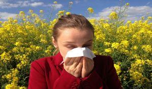 Svake godine sve više ljudi ima alergiju