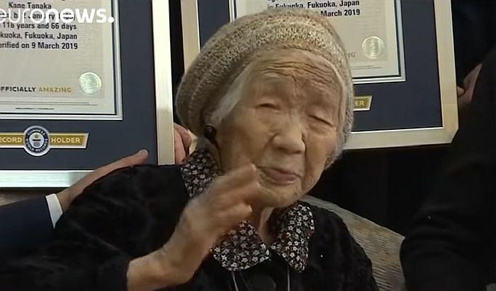 Japanka Kane Tanaka sa 116 godina nastarija osoba na svetu