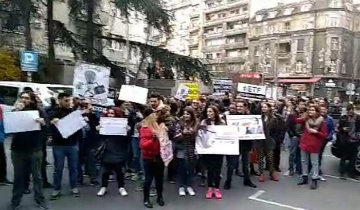 VIDEO: Protest studenata